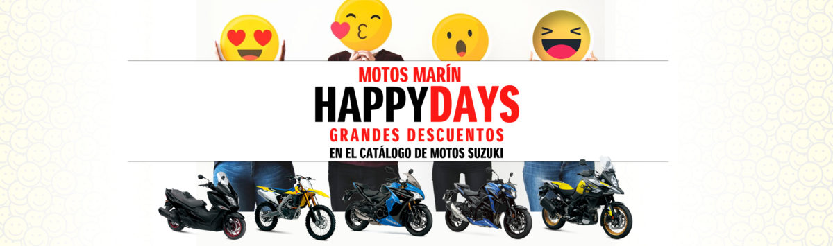 ¡Llegan los Happy Days de Motos Marín!