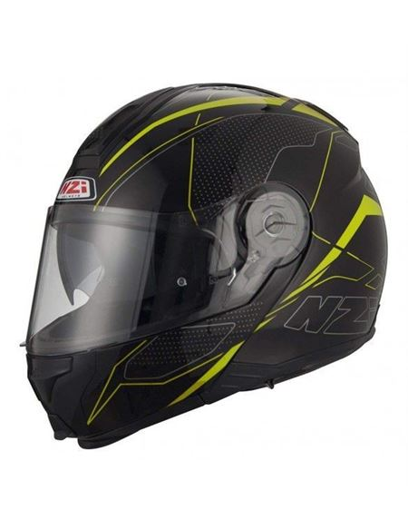 Casco nzi combi2 duo graphics sword neg/am - 04607125938#NEGRO-AMARILLO(1)
