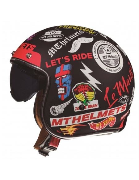 Casco mt of507 anarchy a1 negro mate - 04607126809 (1)