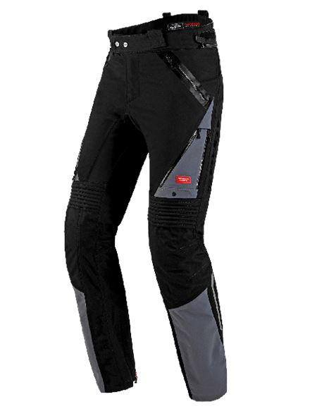 Pantalon spidi globetracker negro-gris - U71-023-1