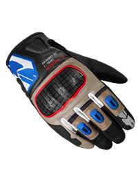 Guantes spidi g-warrior marron