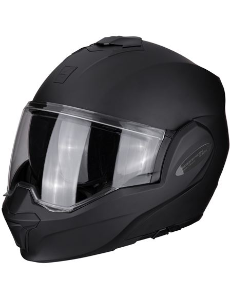 Casco scorpion exo-tech solid negro mate - SCORPION-EXO_TECH_TIME_6