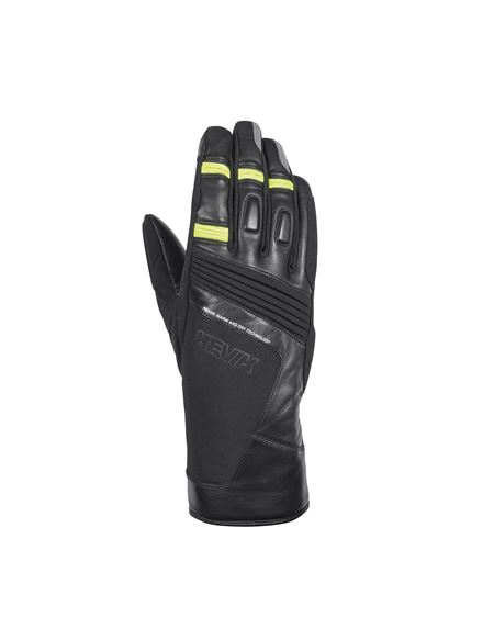 Guantes hevik terral negro - HGW219_FRONTE