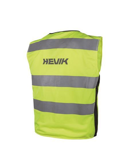 Chaleco hevik seguridad fluor - HVE404%20SAFETY%20VEST%20LIGHT_FRONTE
