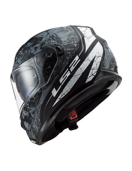 Casco ls2 ff320 stream evo throne negro-titanio - 046071277895 (3)