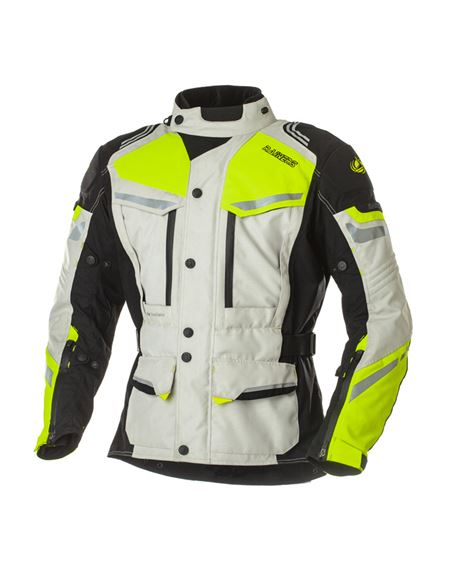 Chaqueta rainers tanger gris-fluor