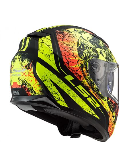 Casco ls2 ff320 stream evo throne negro-amarillo - 046071277733 (3)