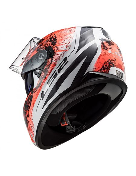 Casco ls2 ff320 stream evo throne blanco-naranja - 046071277734 (1)