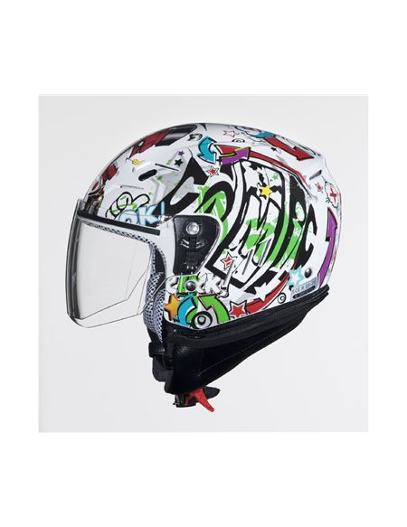 Casco shiro sh-20 kids comic jet-infantil