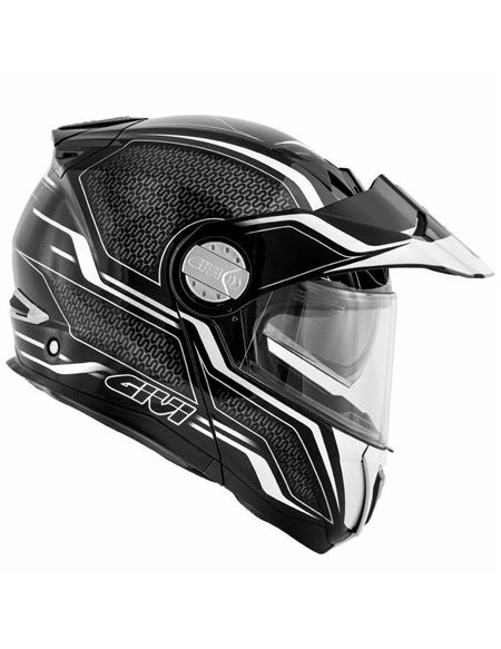 Casco givi x33 canyon layers negro-blanco - 046071278424 (2)