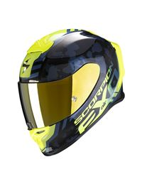 Casco scorpion exo r1 air ogi negro-amarillo