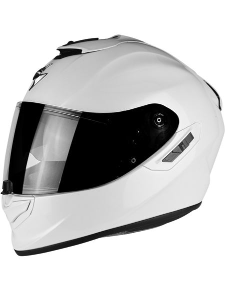 Casco scorpion exo-1400 air solid blanco perla - 046071279211#BLANCO-PERLA(1)