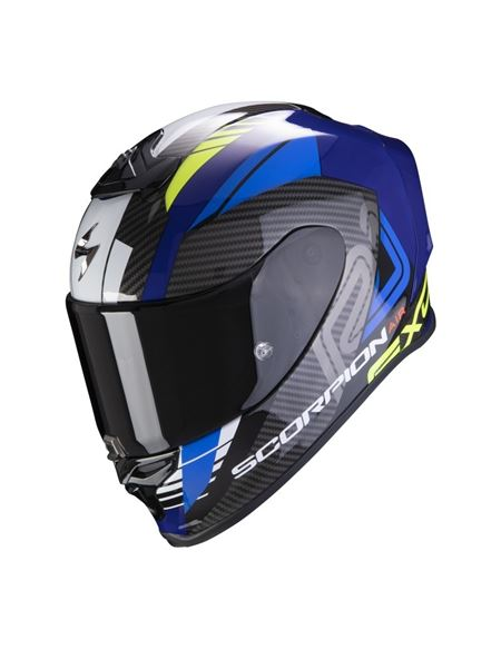 Casco scorpion exo-r1 air halley azul - amarillo - 046071279201#AZUL-AMARILLO(1)