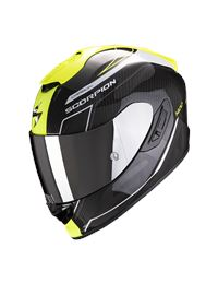 Casco scorpion exo-1400 carbon air beaux bco-amar