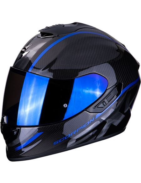 Casco scorpion exo-1400 carbon air grand azul - 046071279221#CARBONO-AZUL(1)