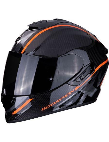 Casco scorpion exo-1400 carbon air grand naranja - 046071279222#CARBONO-NARANJA(1)