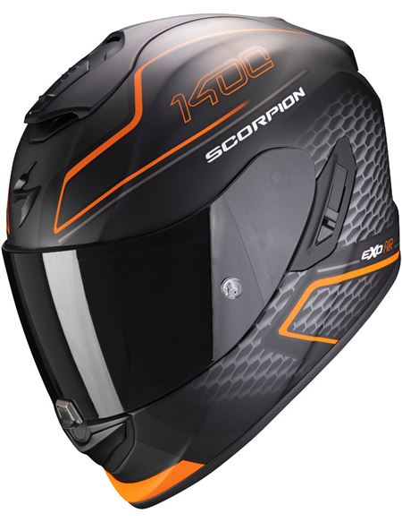 Casco scorpion exo-1400 air galaxy negro-naranja - 046071279252#NEGRO-MATE-NARANJA(1)