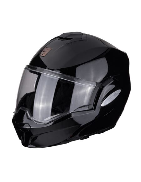 Casco scorpion exo-tech solid negro brillo - 046071279256#NEGRO-BRILLO(1)
