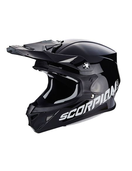 Casco scorpion vx-21 air solid negro brillo - 046071279269#NEGRO(1)