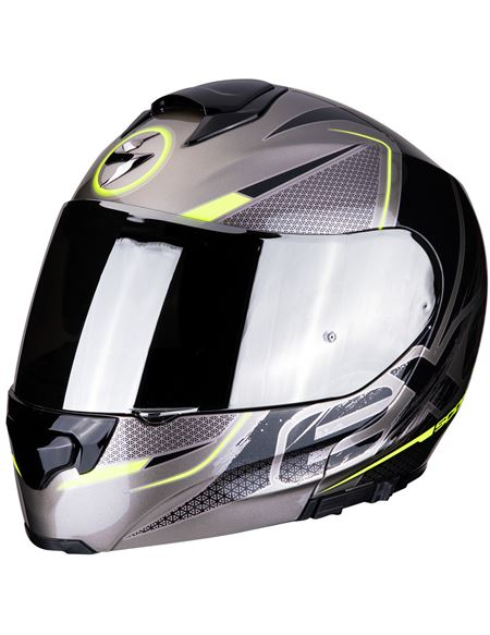 Casco scorpion exo-3000 air creed titanio-amarillo - 046071279263#TITANIO-AMARILLO(1)