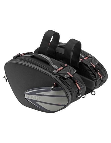 Alforjas laterales givi xstream t474 26/35 lts