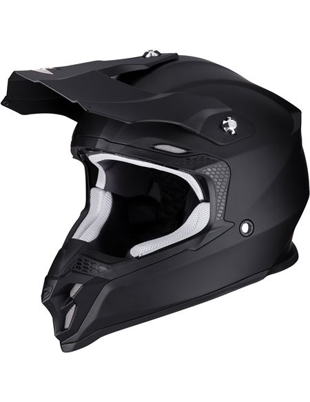Casco scorpion vx-16 air solid negro mate - 046071279292#NEGRO-MATE(1)
