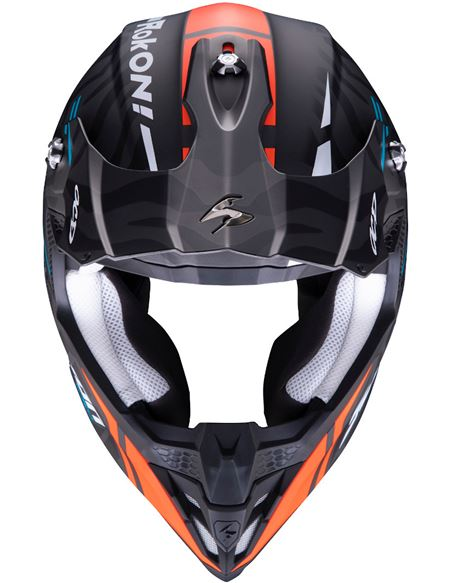 Casco scorpion vx-16 air rock ii réplica - 046071279293#NEGRO-NARANJA-AZUL(1)