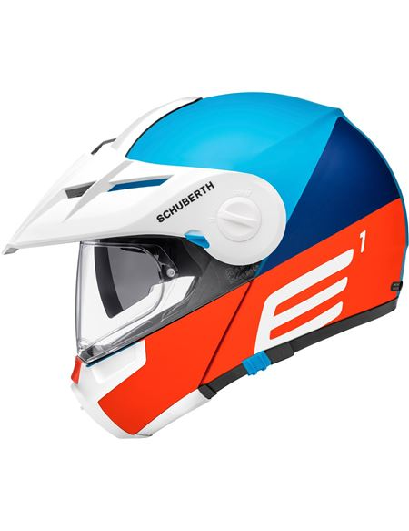 Casco schuberth e1 cut azul - 046071279441
