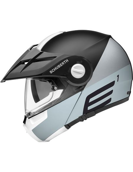 Casco schuberth e1 cut gris - 046071279442
