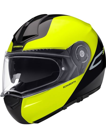 Casco schuberth c3 pro split amarillo - 046071279445