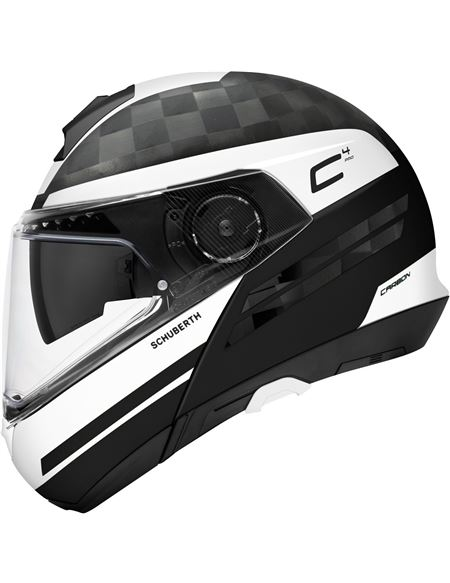 Casco schuberth c4 pro carbon tempest blanco - 046071279449