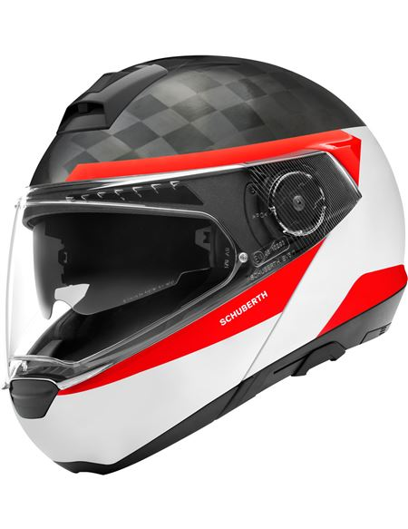 Casco schuberth c4 pro carbon delta blanco - 046071279451