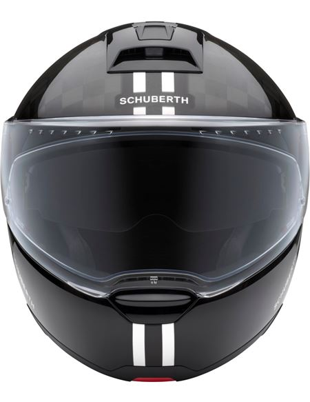 Casco schuberth c4 pro carbon fusion blanco - 046071279454