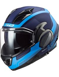 Casco ls2 ff900 valiant ii orbit azul mate