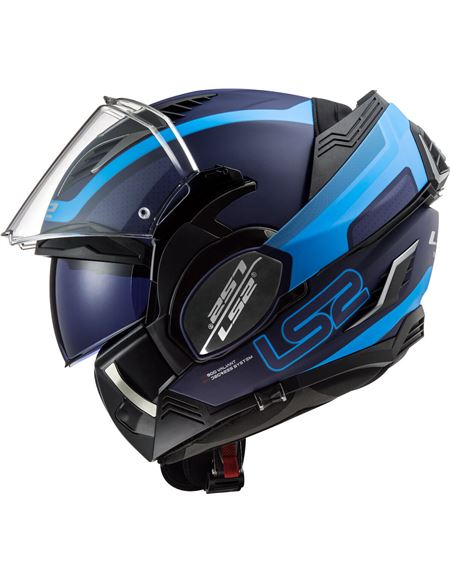 Casco ls2 ff900 valiant ii orbit azul mate - 046071279475