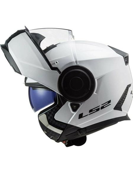 Casco modular ls2 ff902 scope blanco - 046071279484