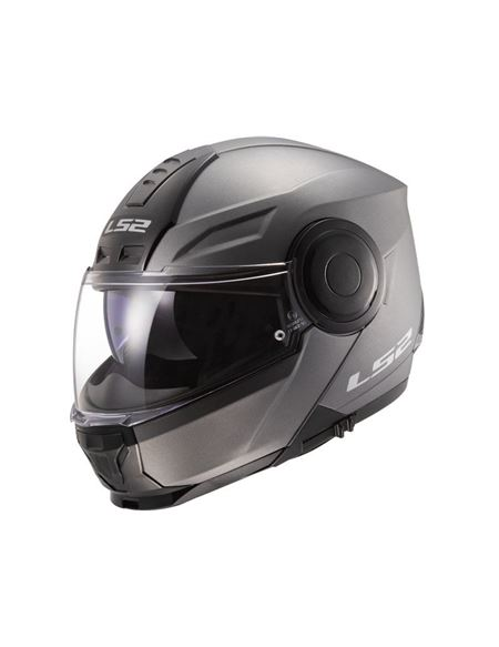 Casco modular ls2 ff902 scope titanio mate - 046071279485