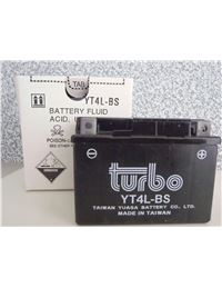 Bateria turbo ytx4l-bs
