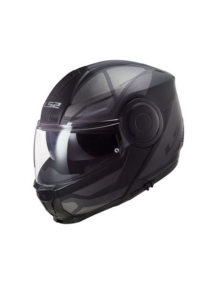Casco modular ls2 ff902 scope negro titanio - 046071279495