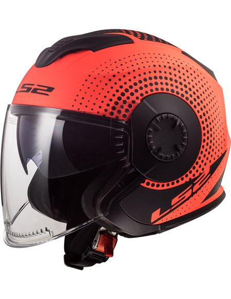 Casco ls2 of570 verso spin naranja - 046071279496
