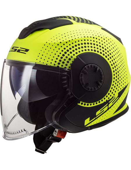Casco ls2 of570 verso spin amarillo - 046071279497