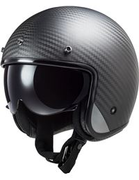 Casco ls2 of601 bob c carbon