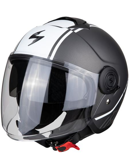 Casco scorpion exo-city avenue plata mate - blanco - 046071279515#PLATA-BLANCO(1)