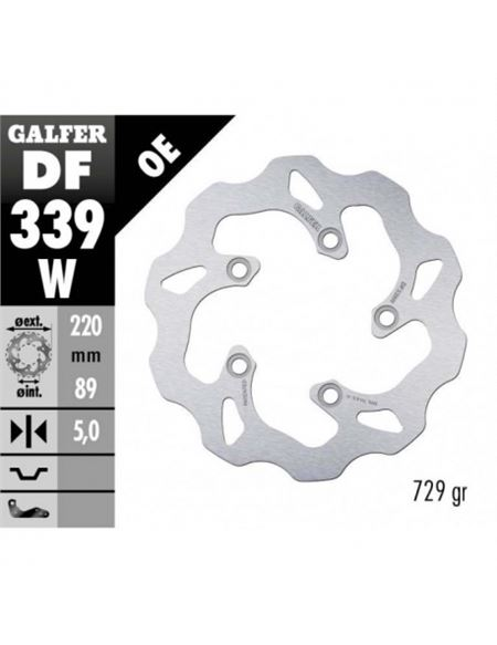 Disco freno tras.gsxr600 galfer wave - DISCO-GALFER-DF339W