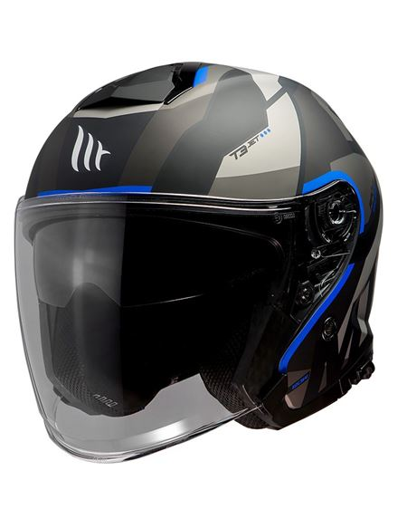 Casco mt of504sv thunder 3 jet bow a7 azul mate - 046071279861#AZUL-MATE(1)