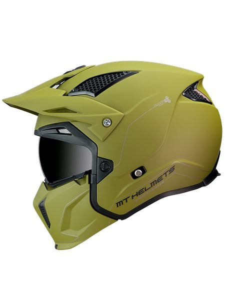 Casco mt streetfighter sv a6 verde mate - 046071279953_1