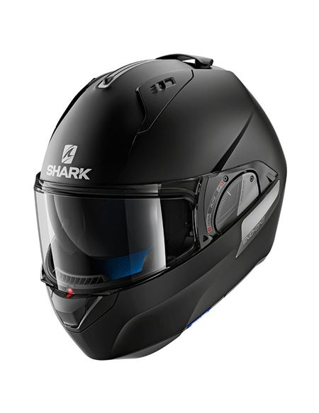 Casco shark evo-one 2 black negro mate - 046071280437#NEGRO-MATE(1)