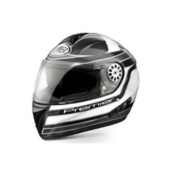 Casco premier angel carbono-blanco