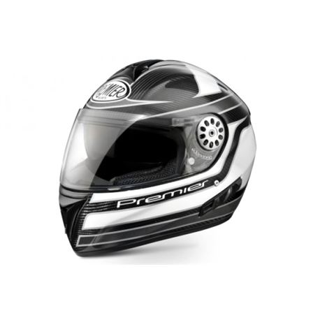 Casco premier angel carbono-blanco - ANGEL