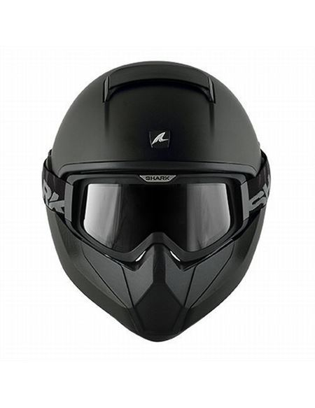 Casco shark vancore dual black - 046702075#NEGRO-MATE(2)